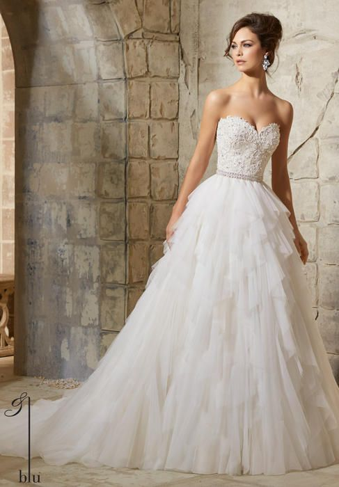 Blu Bridal by Morilee 5366 Blu Bridal Collection by Morilee ...