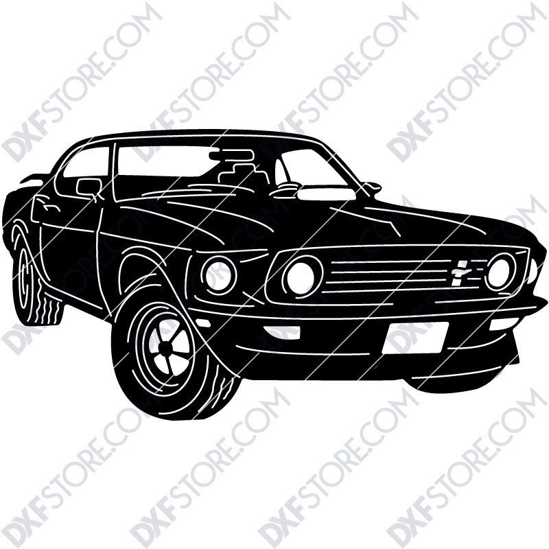 Ford Mustang 1969 Boss 429 Muscle Car John Wick S Car Com Imagens