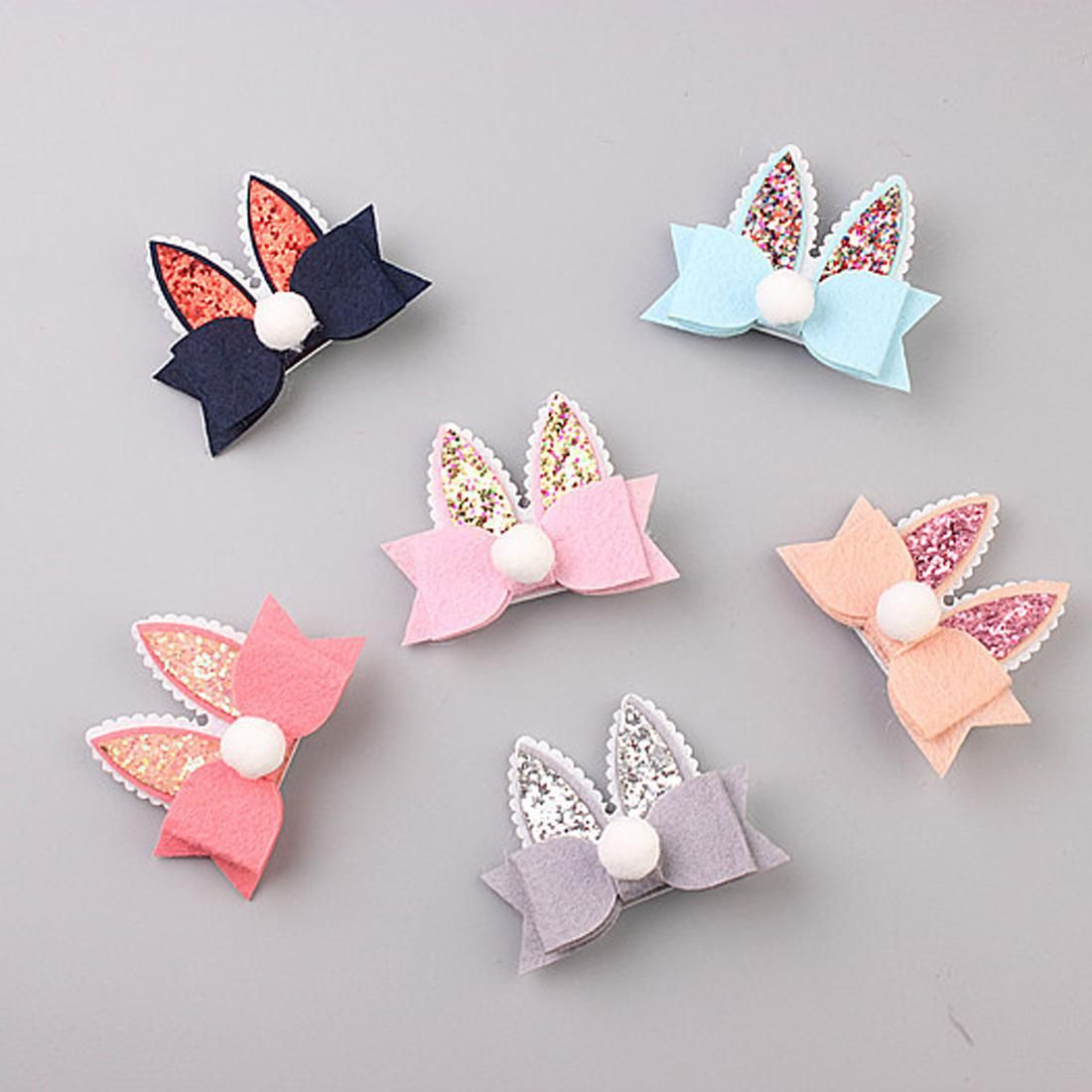 Cute Cartoon Double Rabbit Ears Kids Hairpins Children Headwear Baby Hair Clips Princess Barrette Girls Hair Accessories. Yesterday's price: US $1.80 (1.55 EUR). Today's price: US $0.99 (0.85 EUR). Discount: 45%. #babyhairaccessories