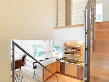 A Small Lake House - contemporary - kitchen - burlington - Susan Teare, Professional Photographer