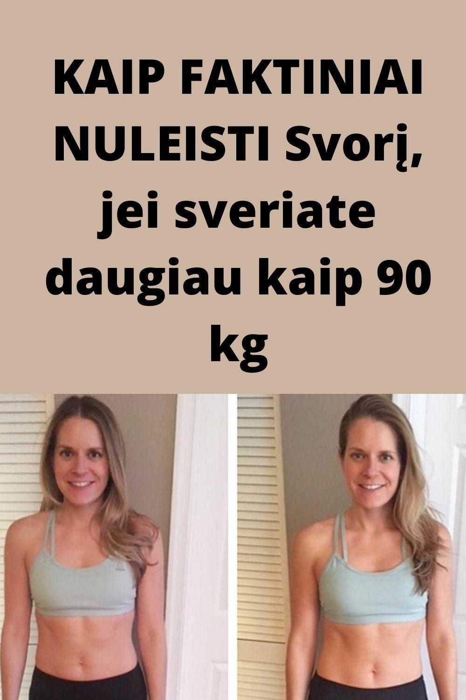 """90 kg atsikratęs alytiškis """"stebuklingą"""" būdą rado pats Ypač 90 svorio metimas"""