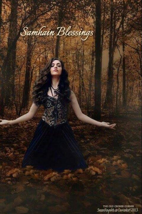 Samhain Blessings Halloween Town, Samhain Halloween, Happy Halloween,  Blessed Samhain, Wiccan,