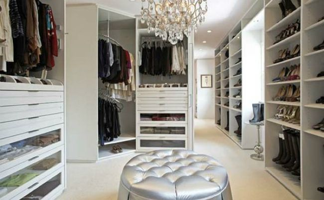 Fabulous Walkin Closets To Make Your Bedroom Interior More Glamorous Bedroom Design With Walk In Closet Inspiration