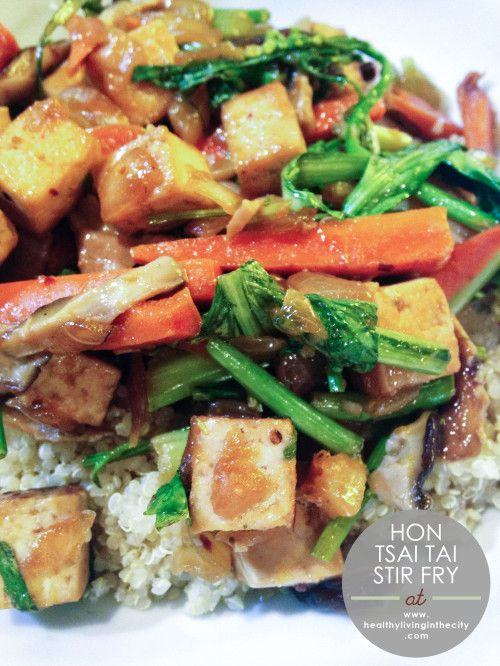 Recipe Box Hon Tsai Tai Stir Fry Healthy Living In The City Recipes Stir Fry Indian Food Recipes