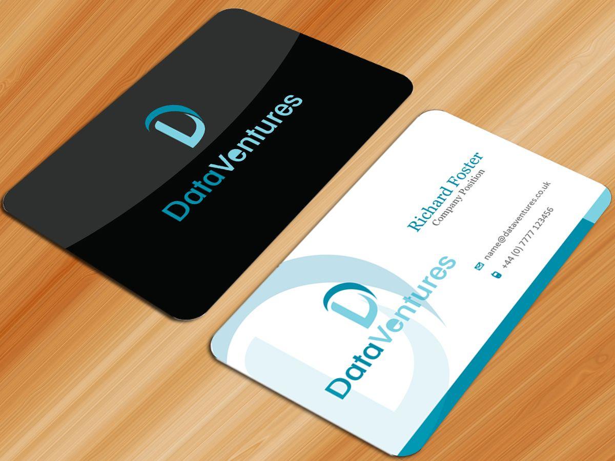 Business Card Design By Sarmishtha Chattopadhyay For Business Card Design For A Technol Business Card Design Modern Business Cards Modern Business Cards Design