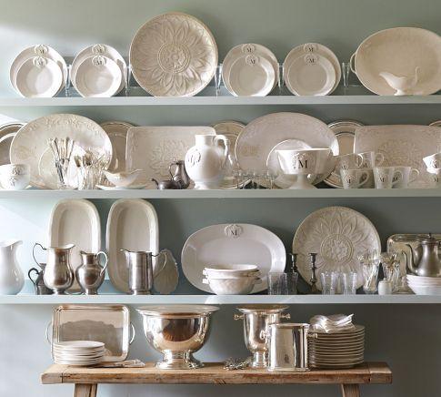 Holman Ledges White Dishes Home Decor