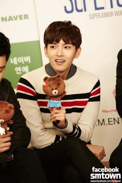 LINE star chatting with Super Junior _ Ryeowook