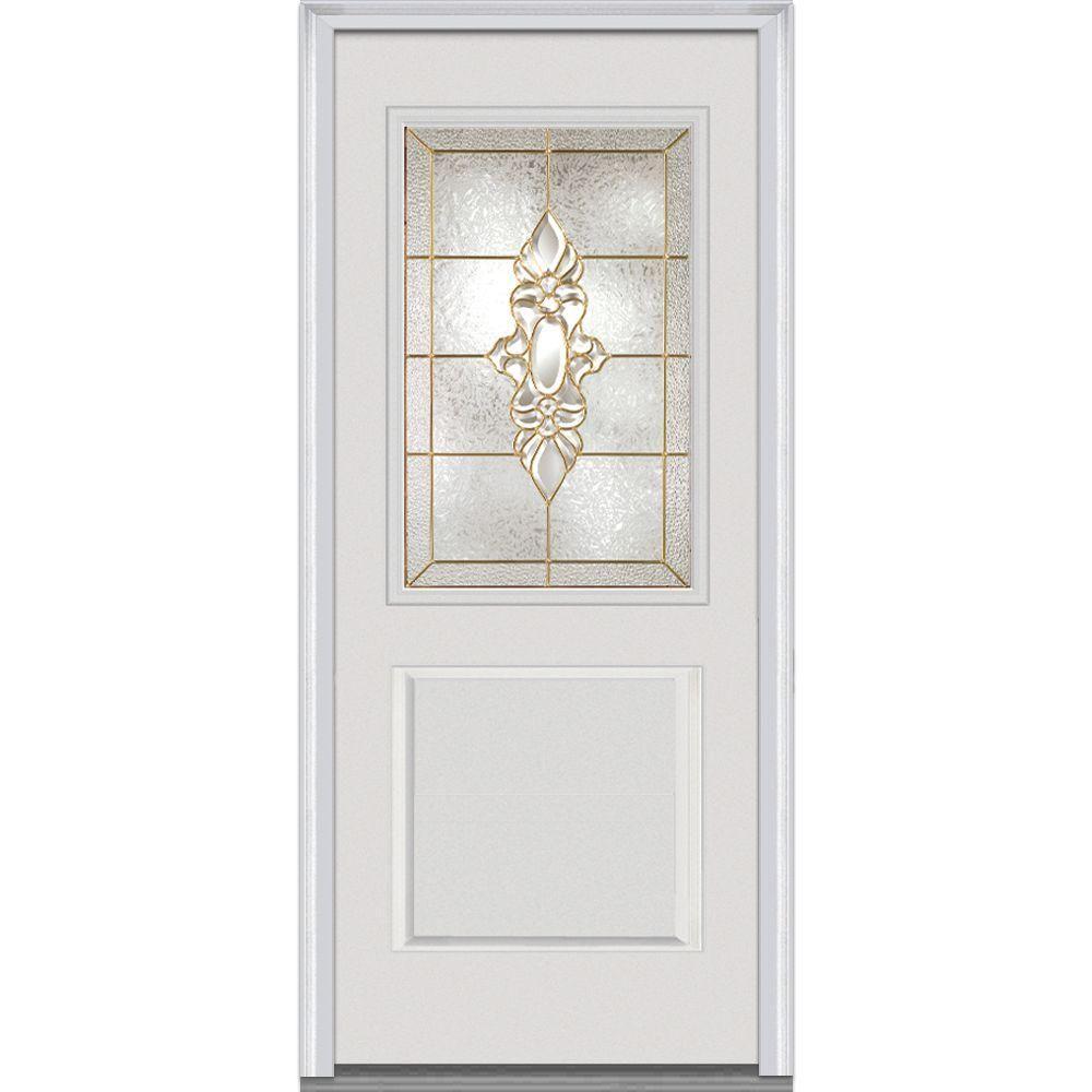 Mmi Door 32 In X 80 In Heirloom Master Right Hand 12 Lite 1 Panel