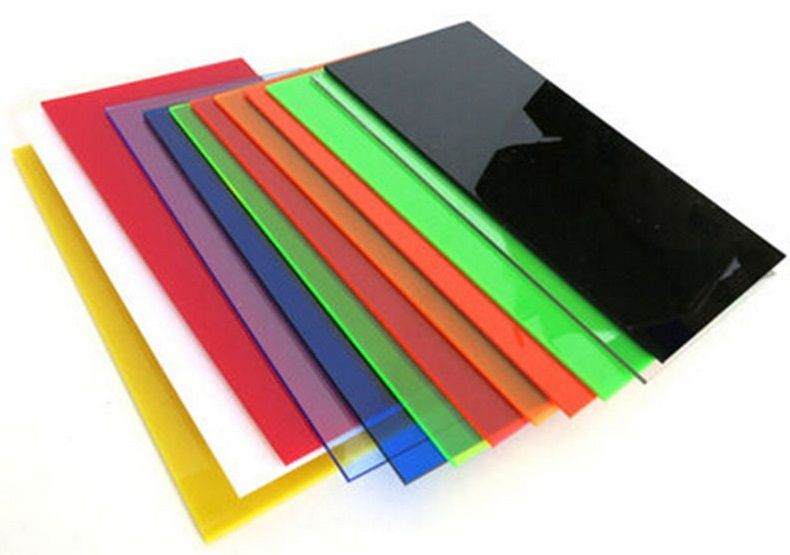 Colored Cast Acrylic Sheets Paper Masked Cast Acrylic Sheet Acrylic Sheets Cast Acrylic