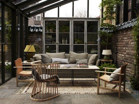 jardin d hiver | Deco | Pinterest | Hiver, Jardins et Vérandas