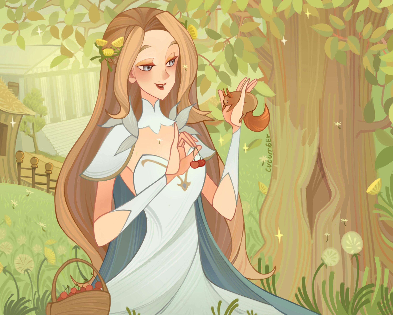 I Tried So Hard To Make This Art Full Of Love And Kindness Cause This Is Belinda V 2020 G Eskizy Personazhej Fantastika Anime Art