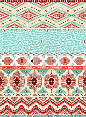 Aztec Geometric Seamless Pattern - Download From Over 30 Million High Quality Stock Photos, Images, Vectors. Sign up for FREE today. Image: 34846818