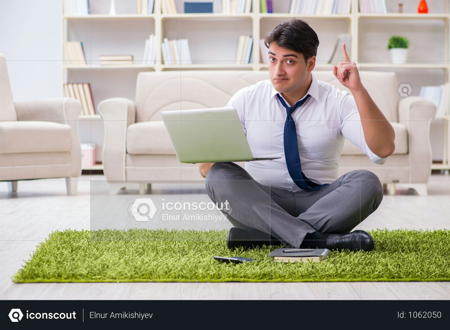 Premium Businessman Sitting On The Floor In Office Photo Download In Png Jpg Format Flooring Business Man Business Photos