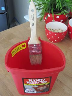 Sew Many Ways...: Tool Time Tuesday...Paint Craft Bucket