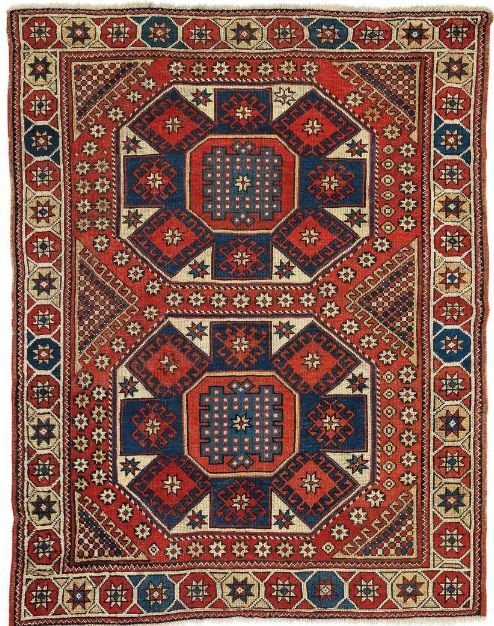 Turkish Avunya rug, 2nd half 19th c Tappeti