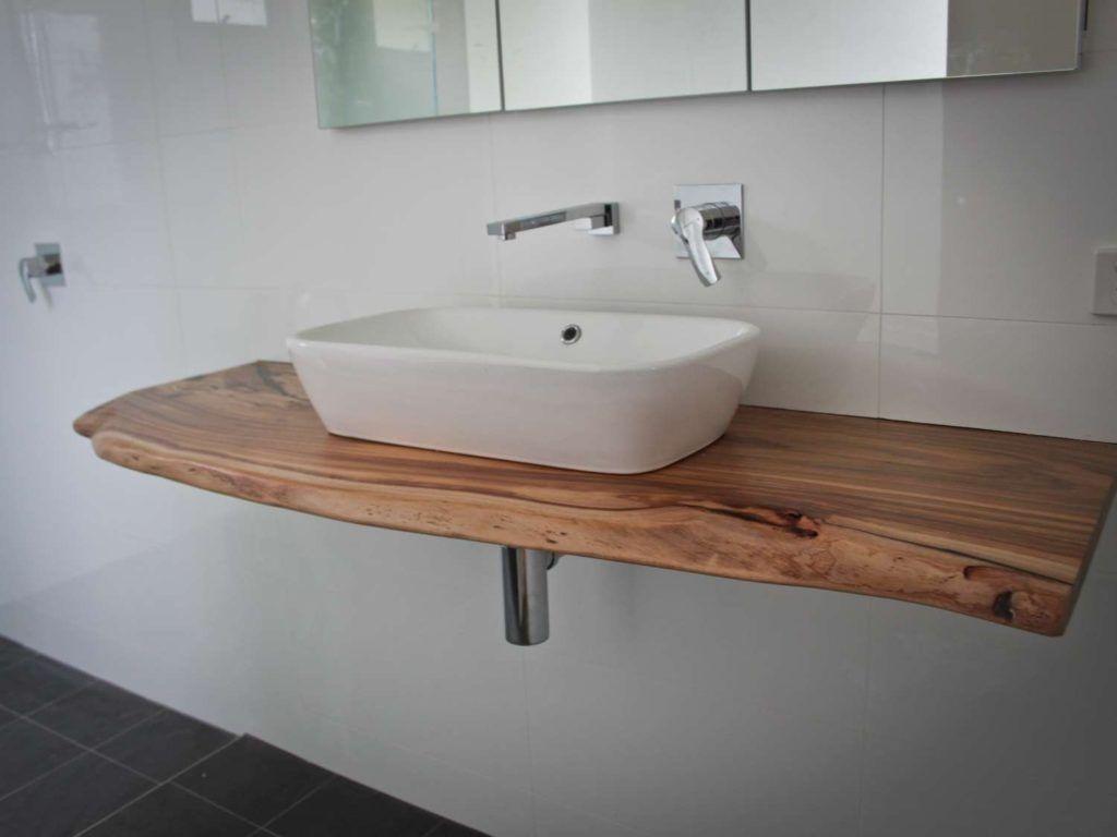 Solid Wood Bathroom Vanity Top Timber Vanity Wood Bathroom