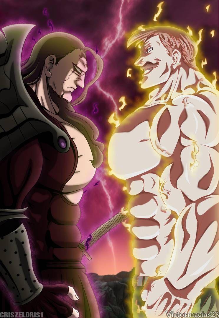 Meliodas vs Meliodas Demon King-NNT Tomo 37 by CrisZeldris1 on DeviantArt