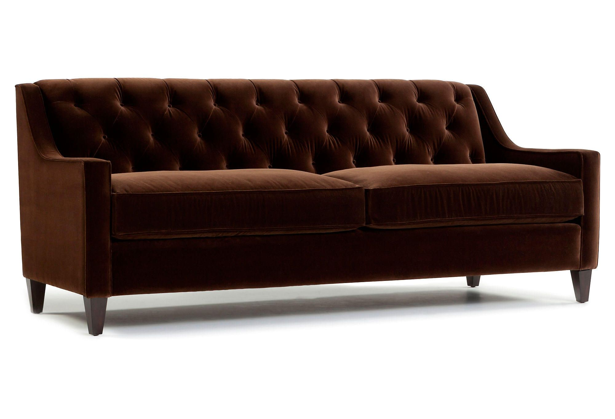 Best Of Chocolate Brown Velvet Sofa Great Chocolate 640 x 480