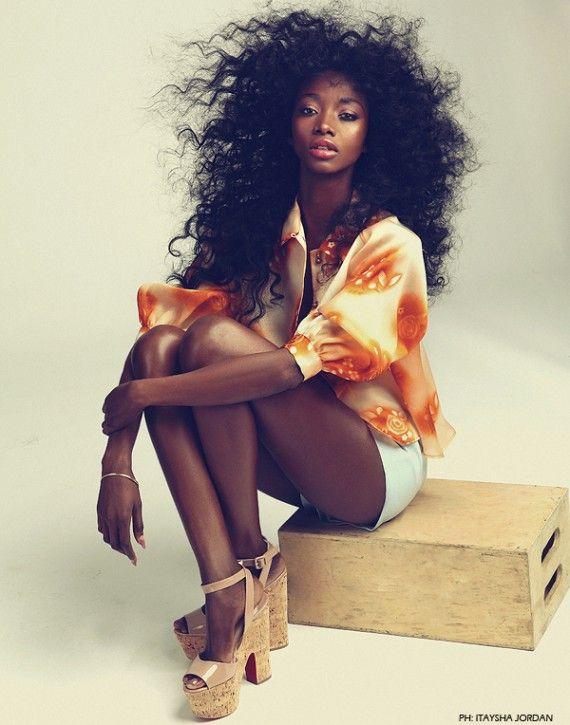 Chocolate Love Fashion: Amazing editorial by Itaysha Jordan
