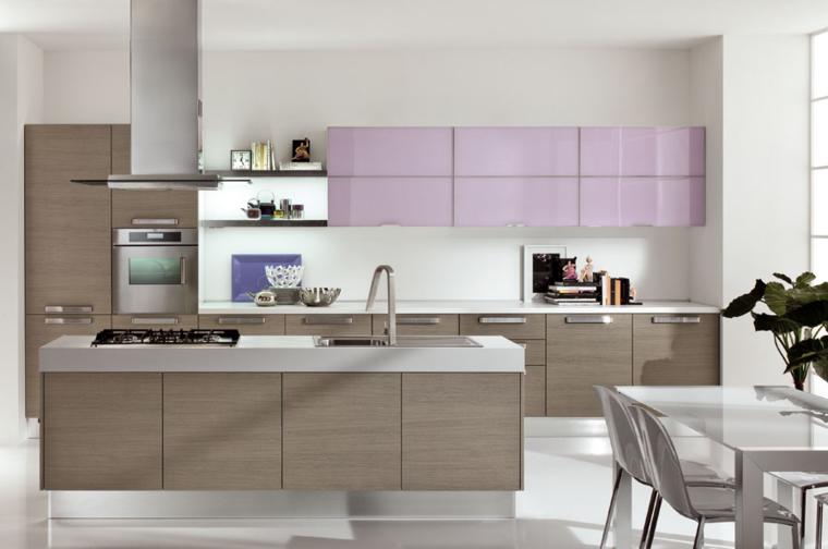 Interni Moderni Cucine : Idea progettuale della cucina: 50 interni moderni cucine