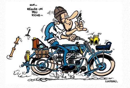 anniversaire biker humour