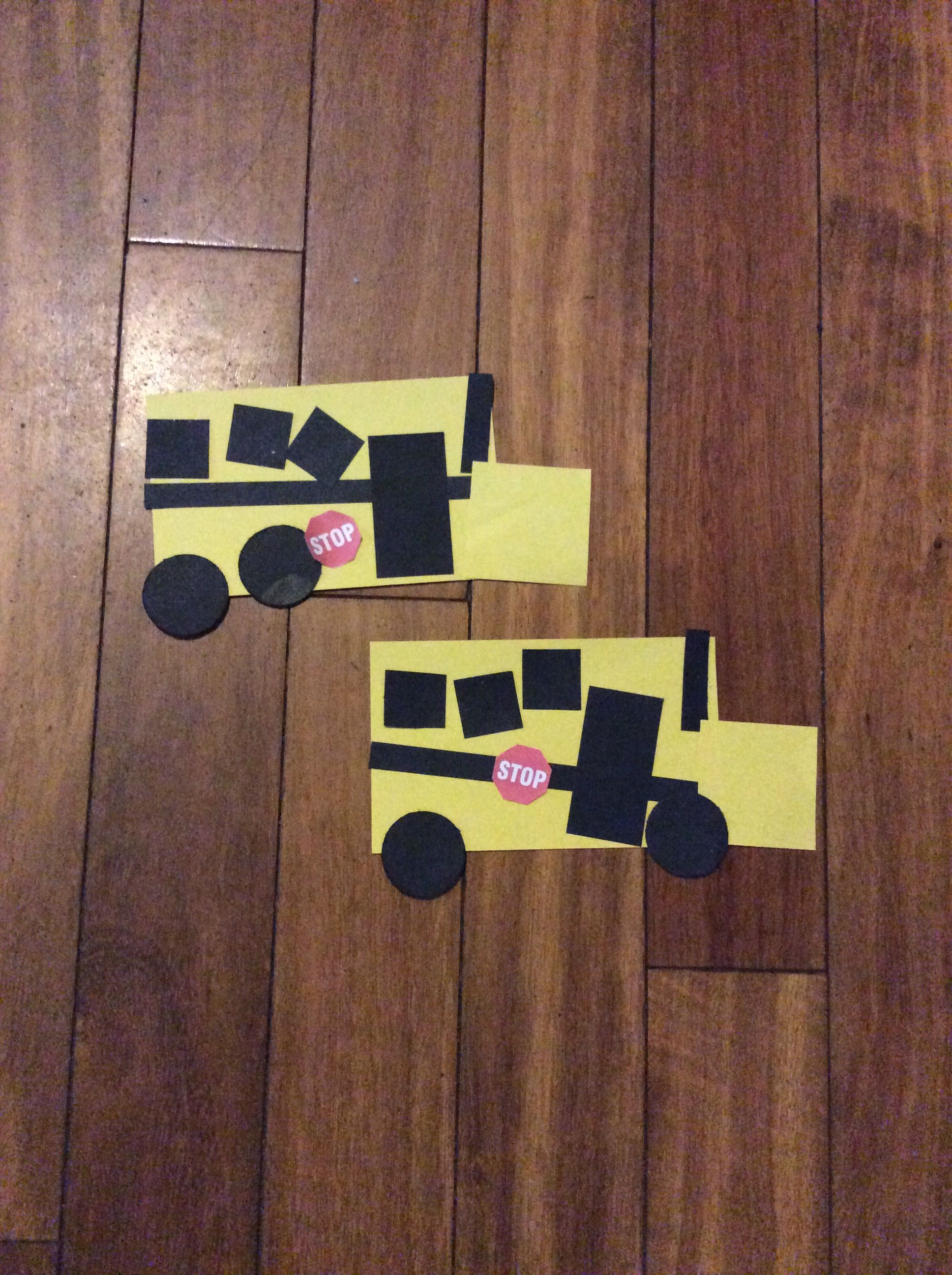 Shapes Bus With Images