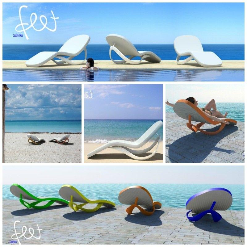 Fun Lounge Chairs flip flop lounge chair - flip flop sandal lounger | diy crafts