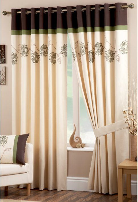 15 latest curtains designs home design ideas interior - Latest curtain design for living room ...