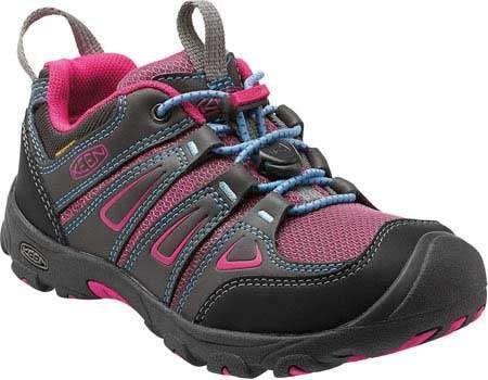 Keen Oakridge Low Waterproof Lace Up Shoe - Little Kid(Children's) -Magnet/Very Berry Fast Express 05ATb0I94q
