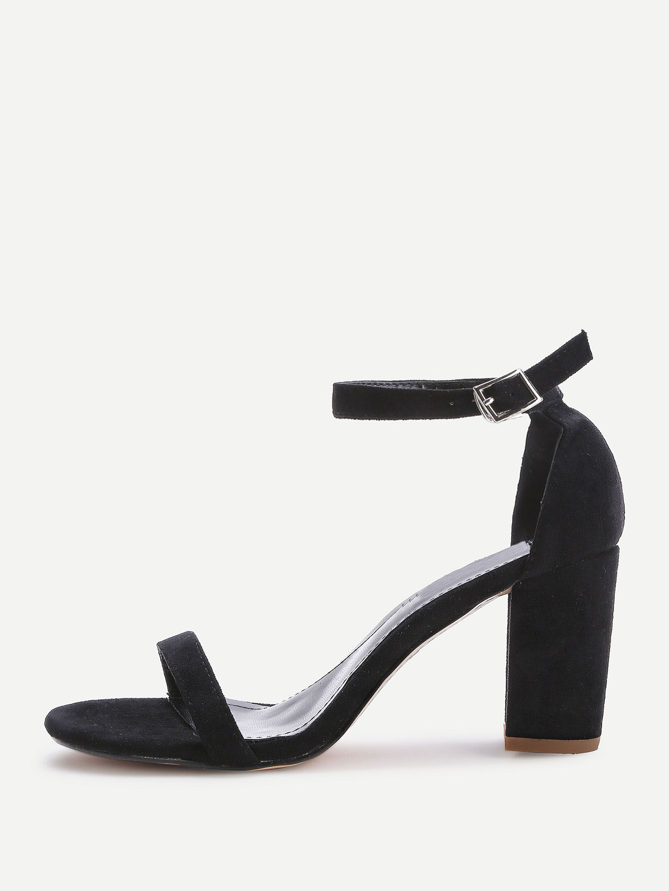 335c16c9214 Shop Two Part Block Heeled Sandals online. SheIn offers Two Part Block  Heeled Sandals   more to fit your fashionable needs.