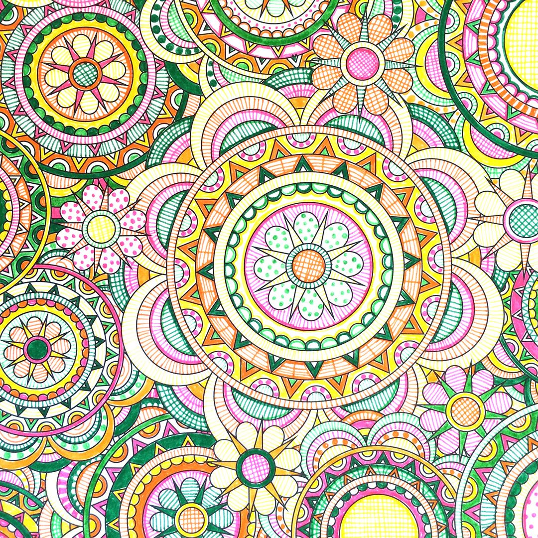 Flower designs coloring book - Flower Designs Coloring Book By Jenean Morrison