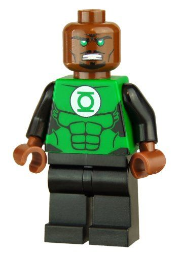 "John Stewart 2"" Custom Minifigure in Green Lantern. I just ..."