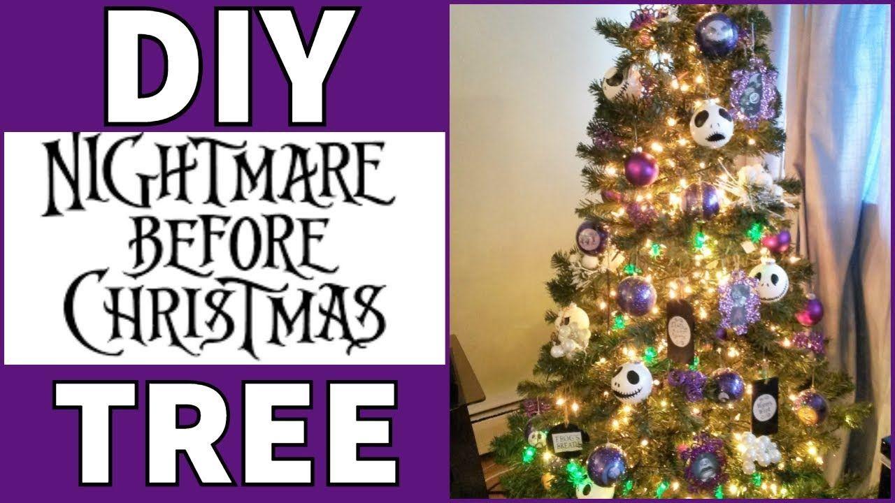 Nightmare Before Christmas Tree Diy Diy Christmas Tree