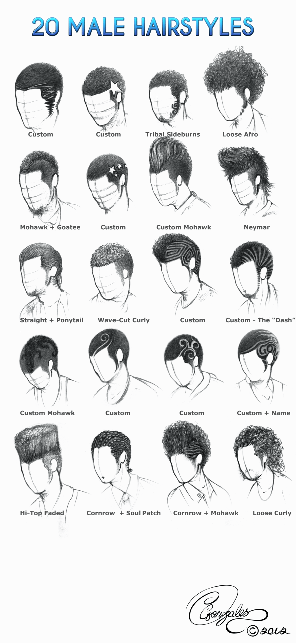Mens Hairstyle Draw Curly Hair Drawing How To Draw Hair Manga Hair