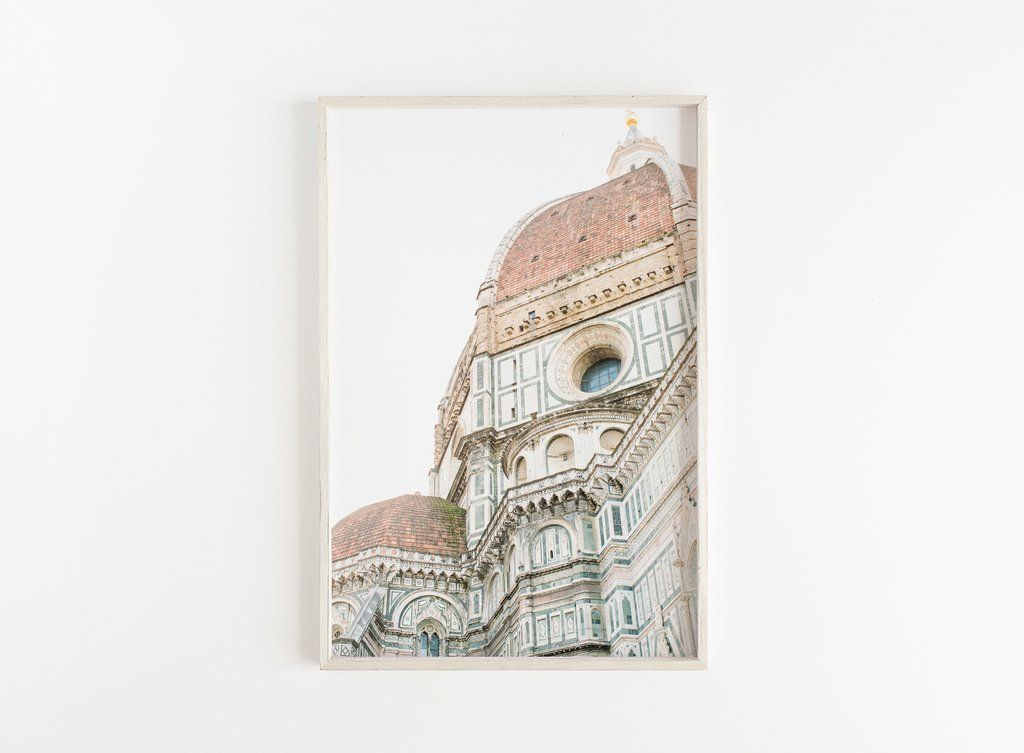 Florence Duomo Cathedral Print Looking For Unique Wall Art To Make Your Home Beautiful Click To View More Florence Wall Art Travel Art Print Italy Wall Art