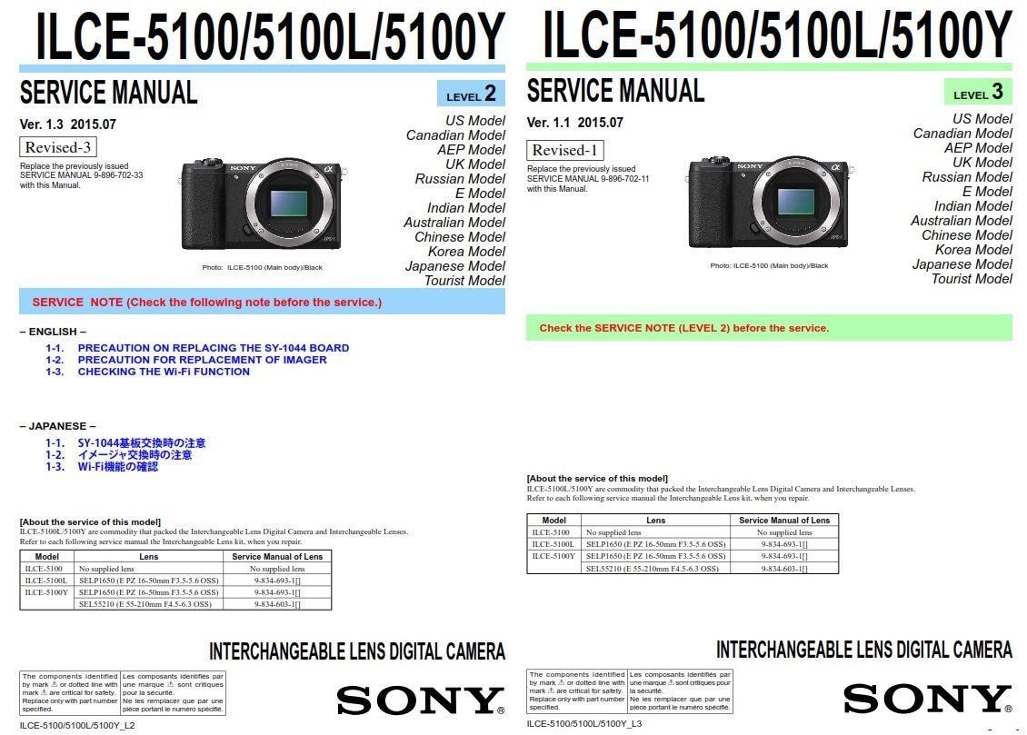 Sony Alpha Alpha A5100 Ilce 5100 5100l 5100y Digital Camera