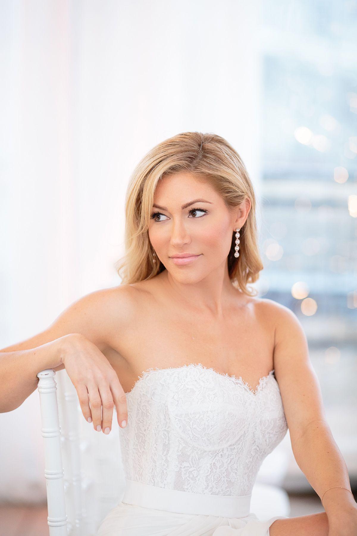 jackie johnson | wedding hair & makeup photos | the brid