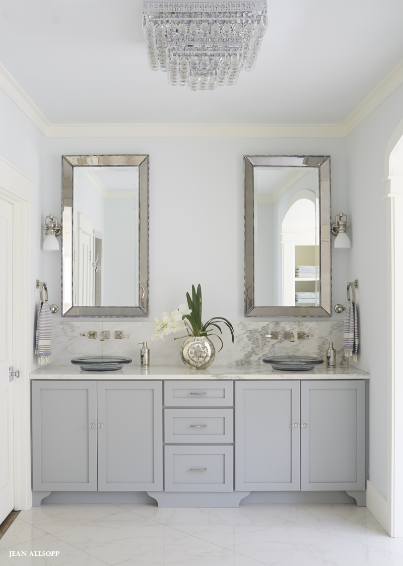 Gray Vanity Bathroom Design Bath Pinterest Gray Vanity - Restoration hardware bathroom mirrors for bathroom decor ideas