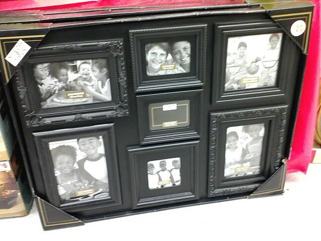 $10 picture frame set at the Family Dollar. | Dollar store ...