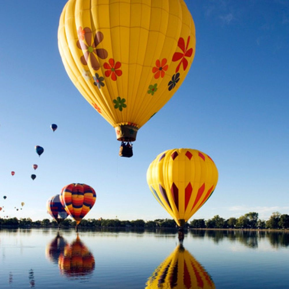 Shared Basket Hot Air Balloon Ride for One in Cedar Rapids