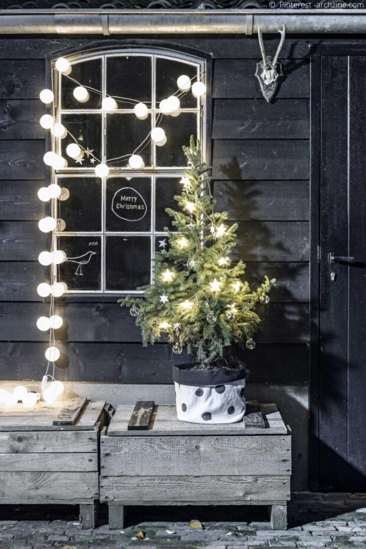 Deco De Noel Lumineuse Pour Fenetre idée déco de noël pour votre extérieur et vos fenêtres