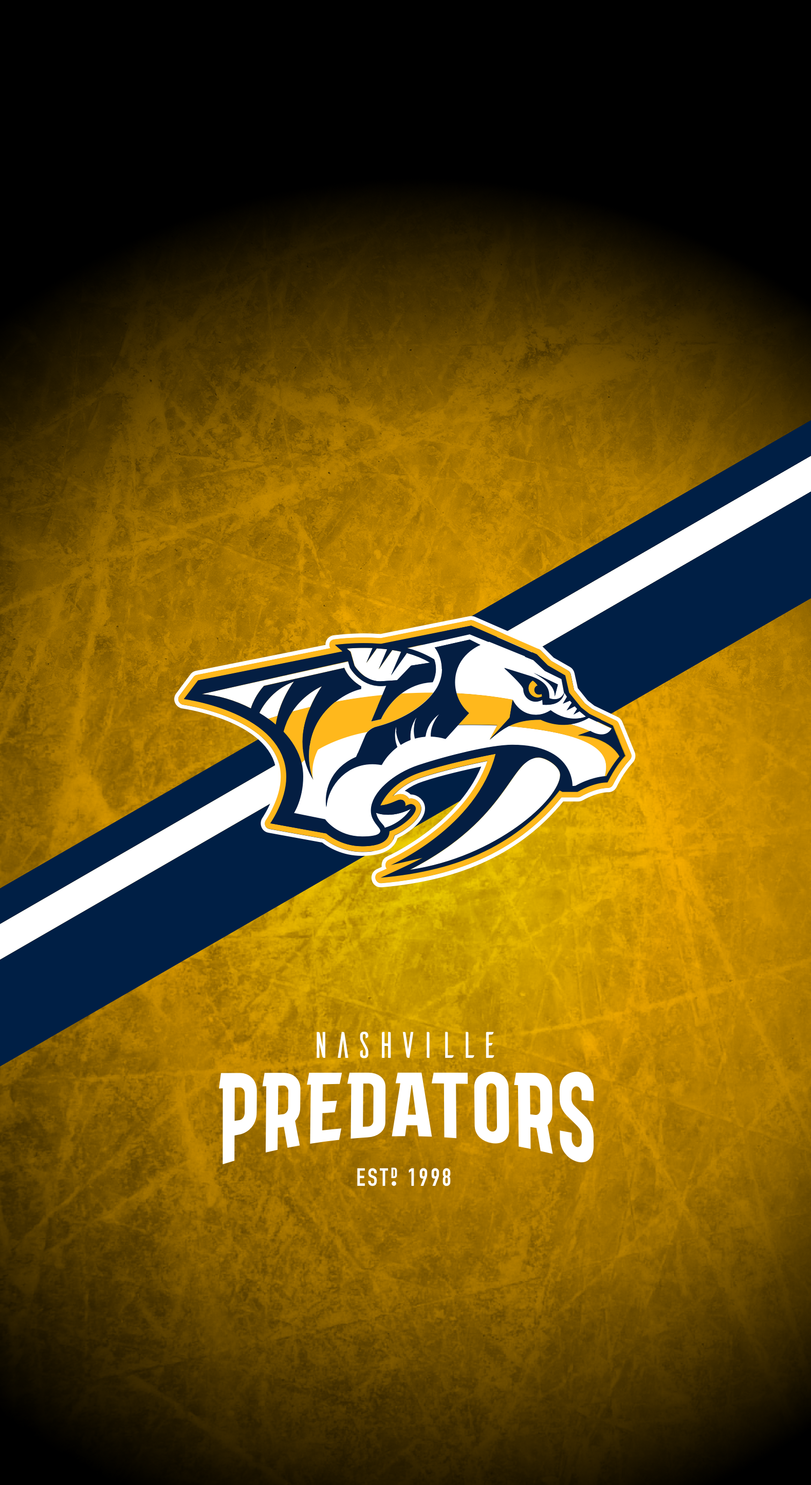 Nashville Predators (NHL) iPhone X/XS/XR Lock Screen