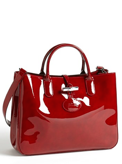 Rich Red Patent Leather Tote Rstyle Me N P3ty5r9te