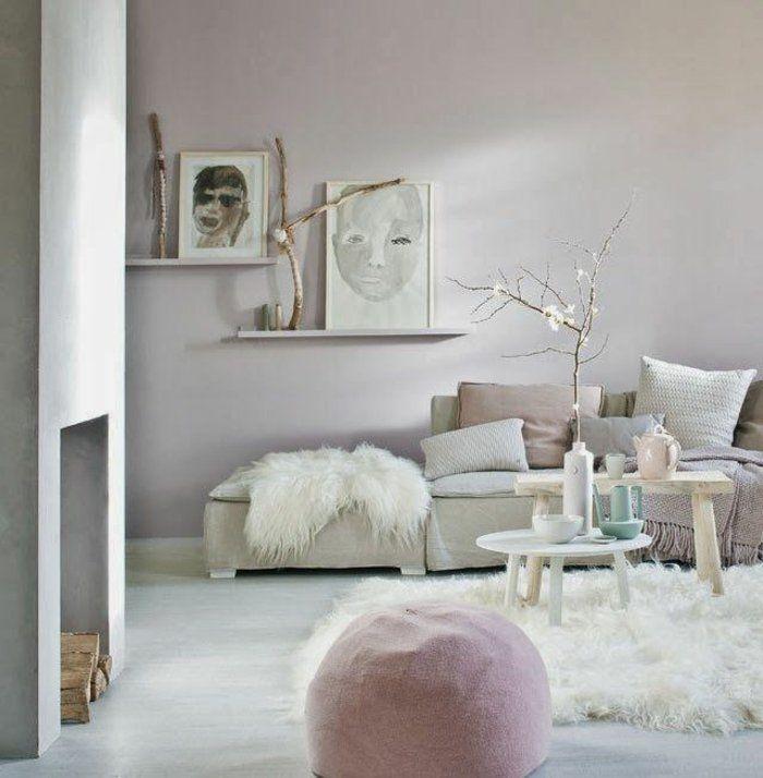 Quelle peinture choisir pour le salon de style scandinave for Choisir peinture salon