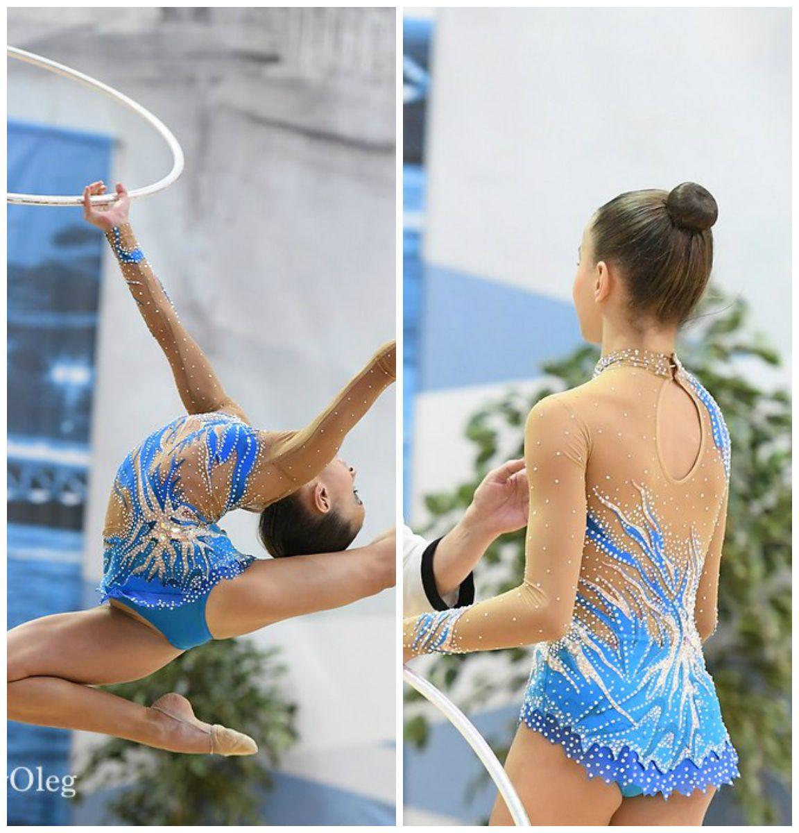 Rhythmic gymnastics leotard (photos by Oleg Naumov)