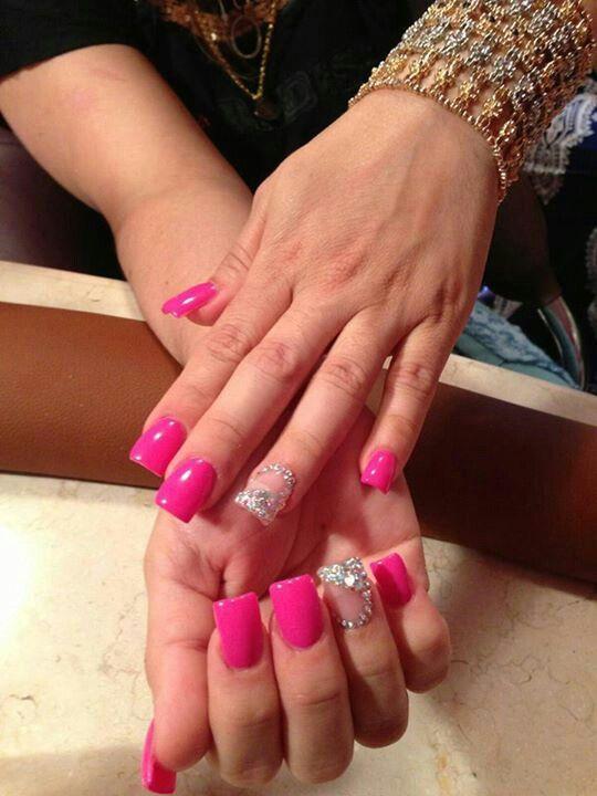 Nails Estilo Sinaloa | Nails Estilo Sinaloa | Pinterest | Bling nail ...