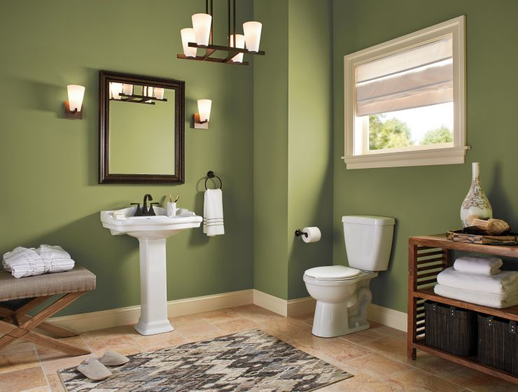 Color Of The Month Secret Meadow Colorfully Behr Painting Bathroom Behr Marquee Paint Bathroom Paint Colors