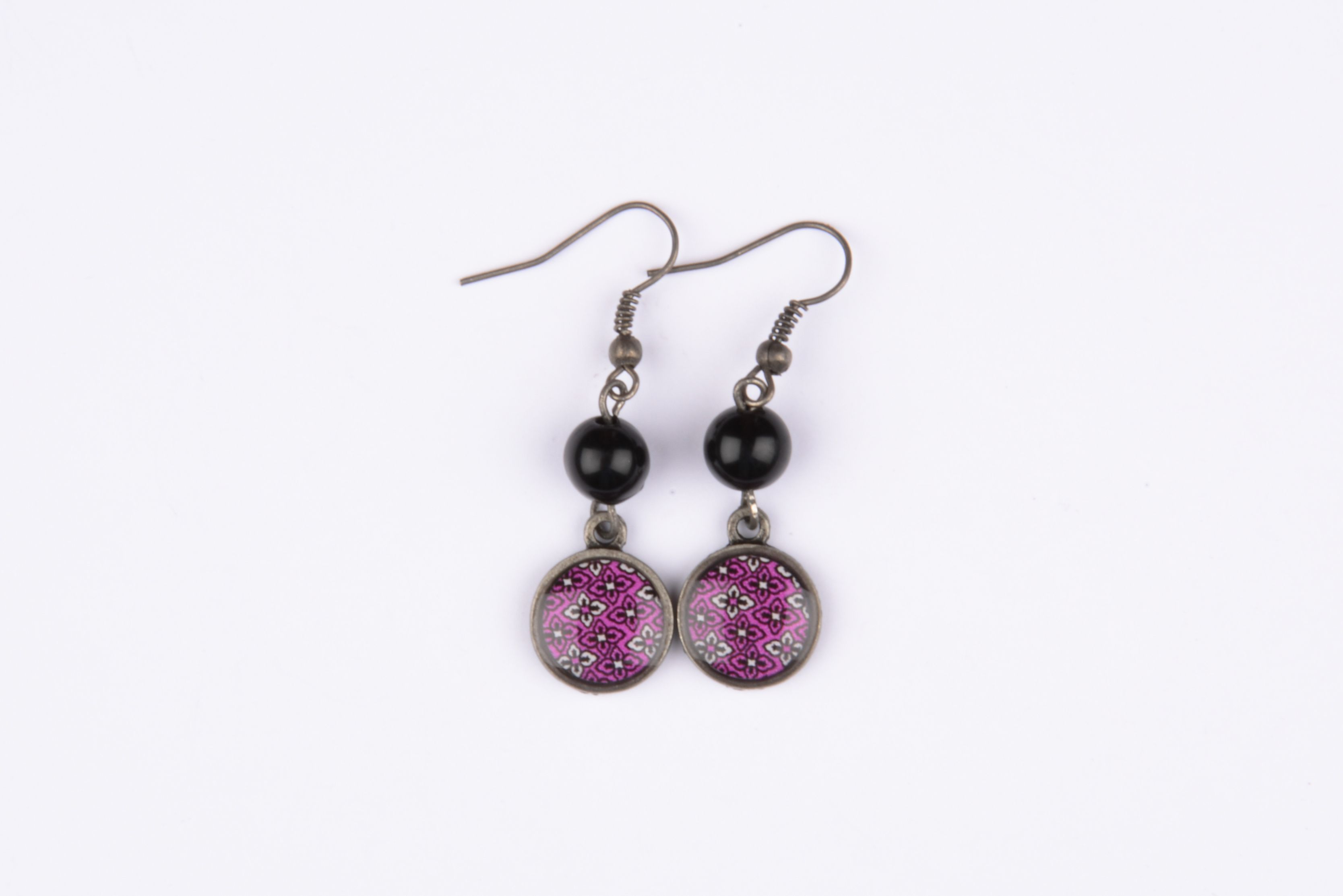 Boucles d'oreilles - Collection Cristal litchi.fr
