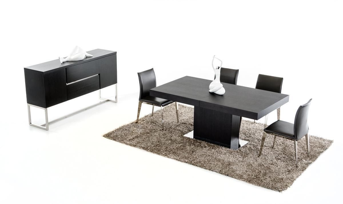 Amazon.com   VIG Furniture Modrest Durham Modern Wenge Extendable Dining  Table
