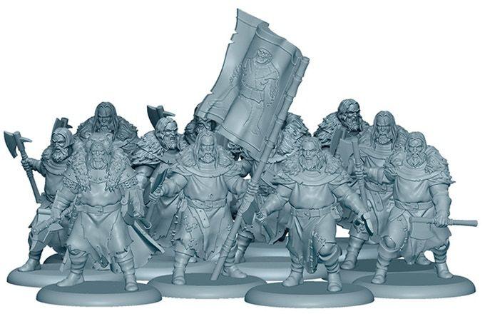 3d Render Of The Umber Berserkers Included In The Starter Set